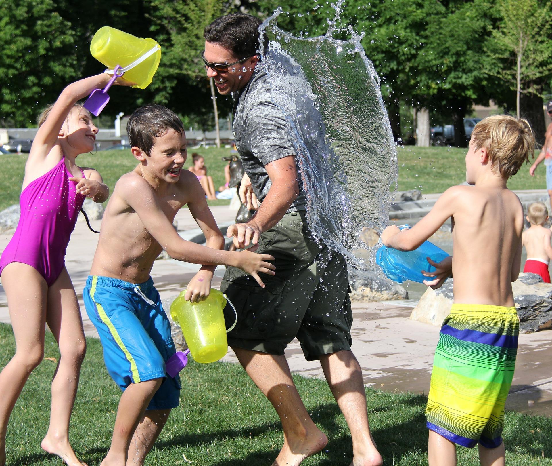 5 Juegos Con Agua Para Verano Aguas De Sousas