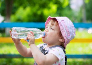 Hidratación en niños