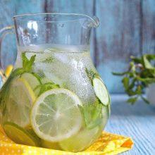 Agua detox para desinflamar