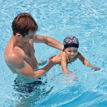 Niños con miedo al agua