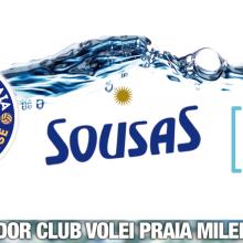 Aguas de Sousas patrocina al Club Volei Praia Milenio Ourense