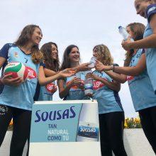 Aguas de Sousas, patrocinador del Club Voleibol Ourense