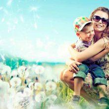 Día de la Madre. Las madres son magas.