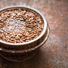 El agua de semillas de lino. ¡Qué buena es!