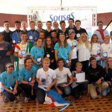 Galicia subcampeona del Nacional de Vela 420 patrocinado por Sousas