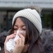 Agua para los resfriados de otoño